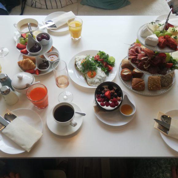 Fühstücks Impressionen